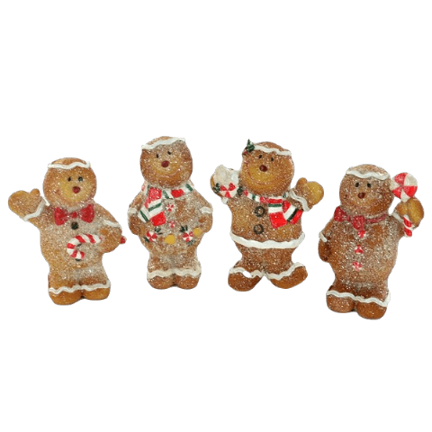 Christmas Gingerbread Family Ornaments
